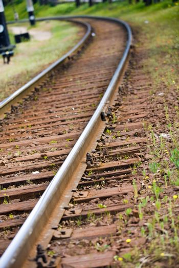transportation series:  railway on the turning point