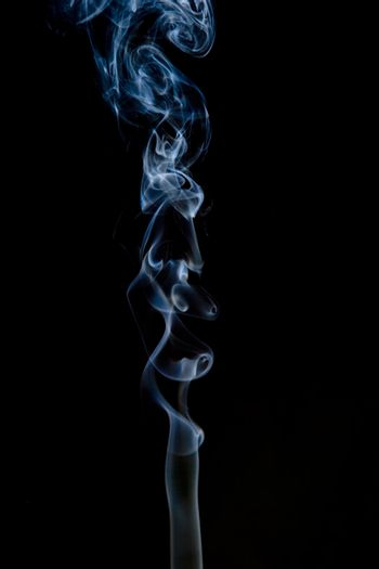 An abstract smoke background