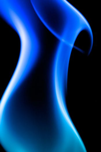 A blue abstract background