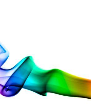 An abstract smoke pattern