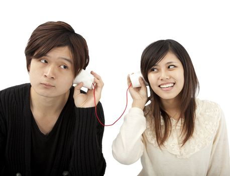 The communication between couple