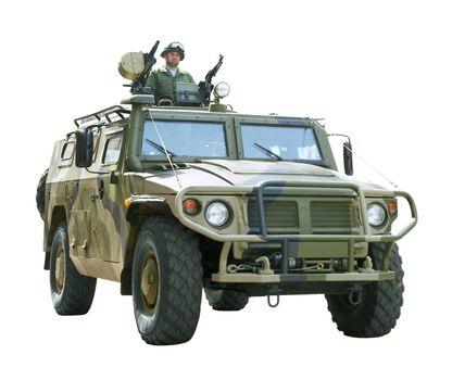 The Russian military technics...