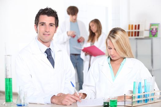 Higher education in chemistry