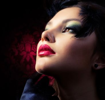 Fashion Woman.Luxury Style