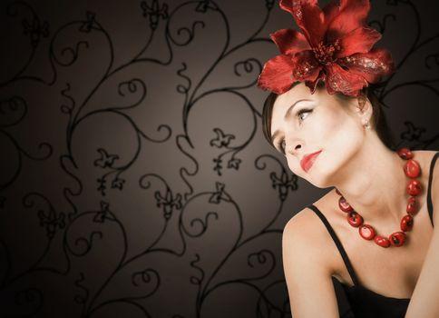 Beautiful Romantic Woman