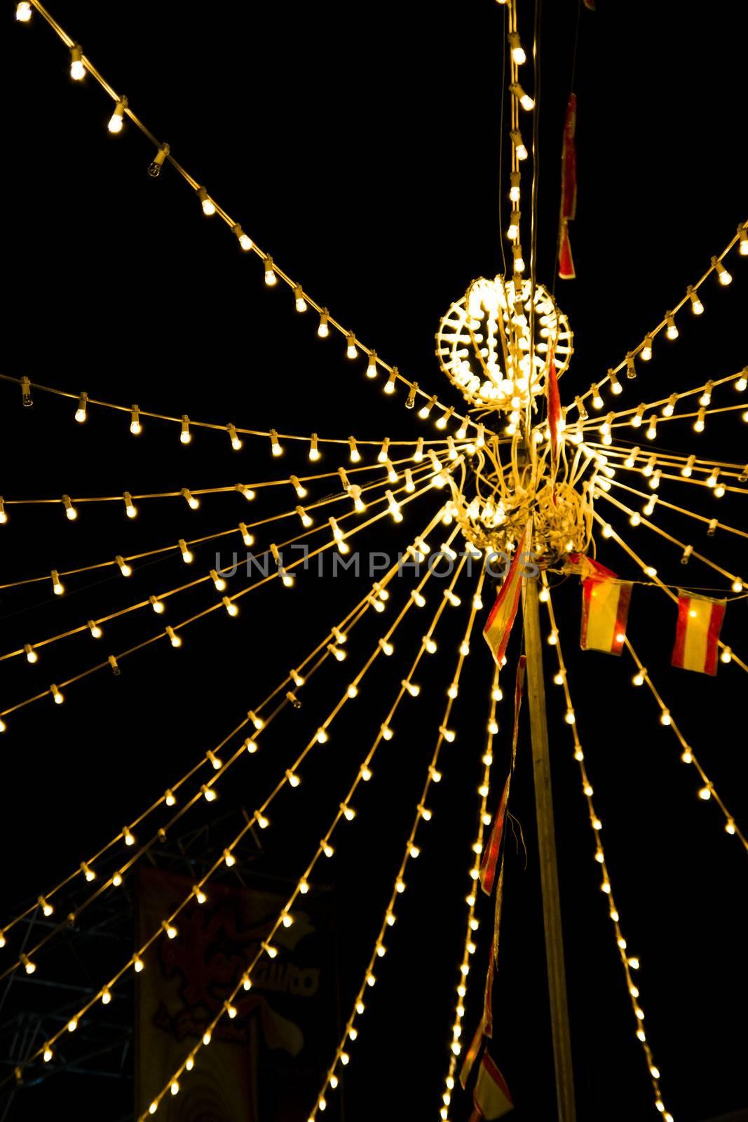 Lights festivities of Spain