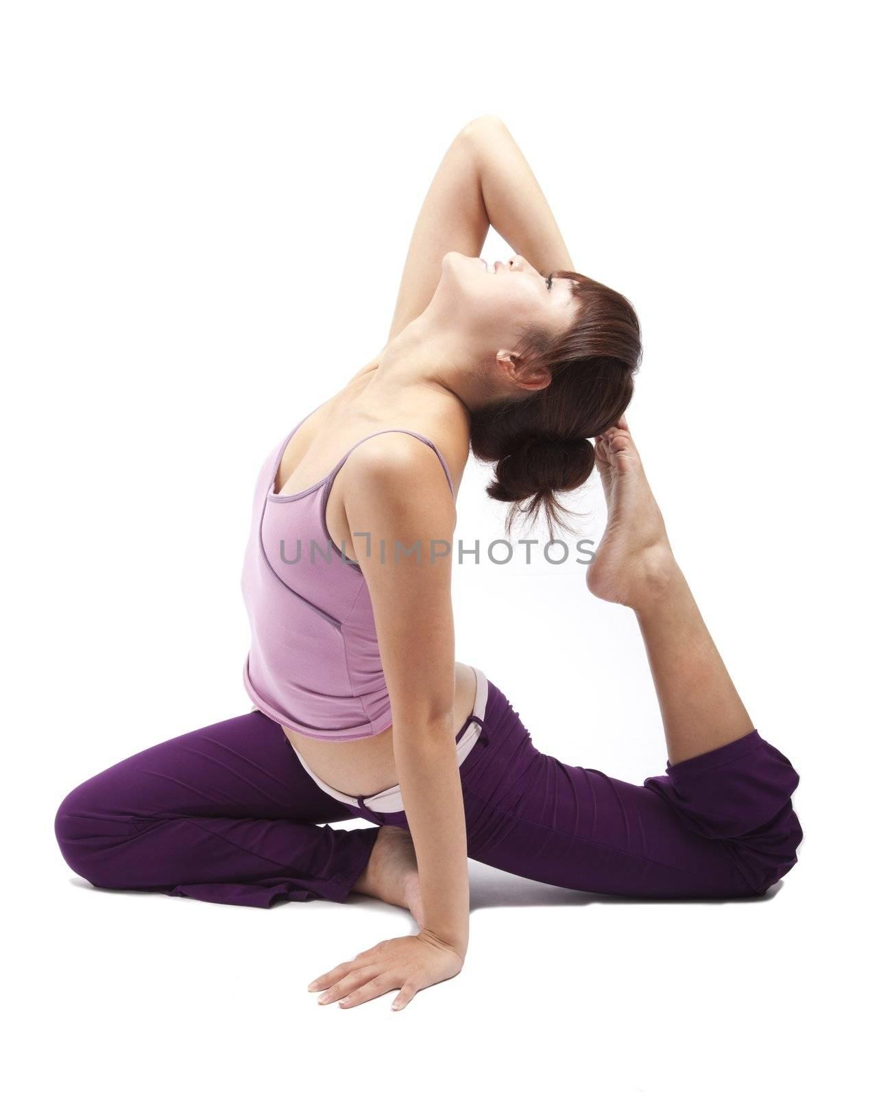 Asian Yoga girl
