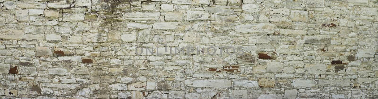 background or texture of a wide wall