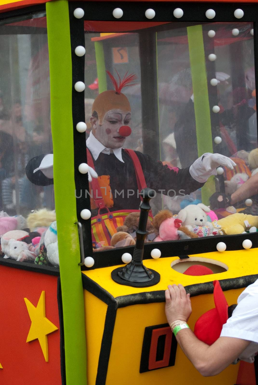 OVAR, PORTUGAL - MARCH 8: Group 'Garimpeiros'  during the Carnival Parade on March 8, 2011 in Ovar, Portugal.