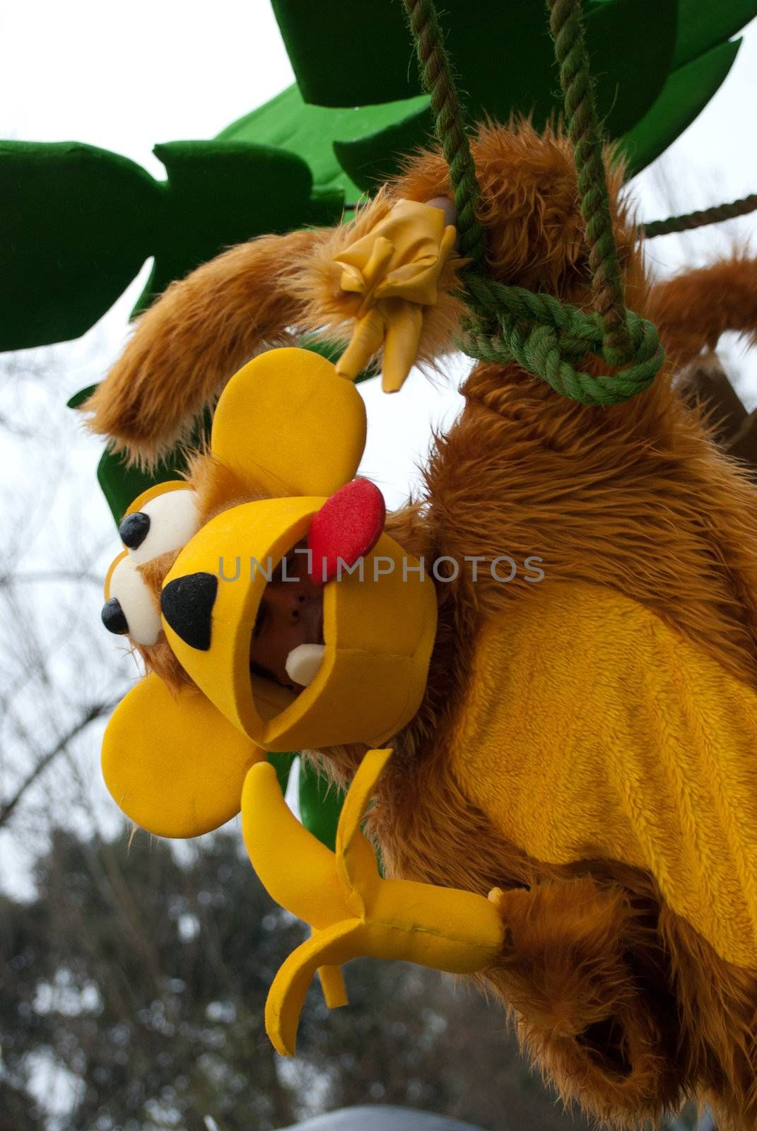 OVAR, PORTUGAL - MARCH 8: Group 'Marroquinos'  during the Carnival Parade on March 8, 2011 in Ovar, Portugal.