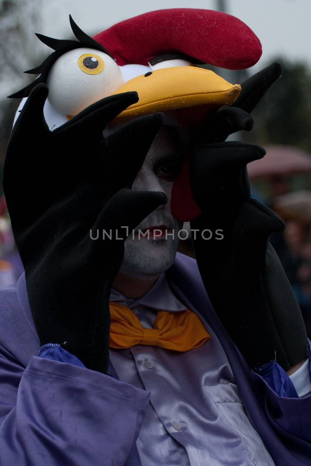 OVAR, PORTUGAL - MARCH 8: Group 'Zuzucas'  during the Carnival Parade on March 8, 2011 in Ovar, Portugal.
