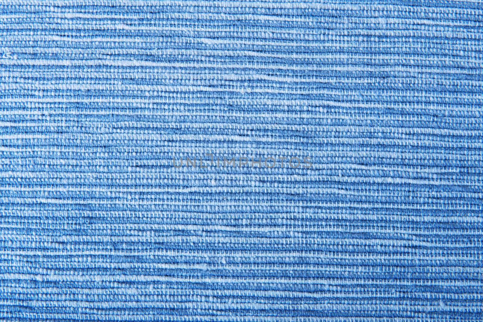 Blue textile texture background
