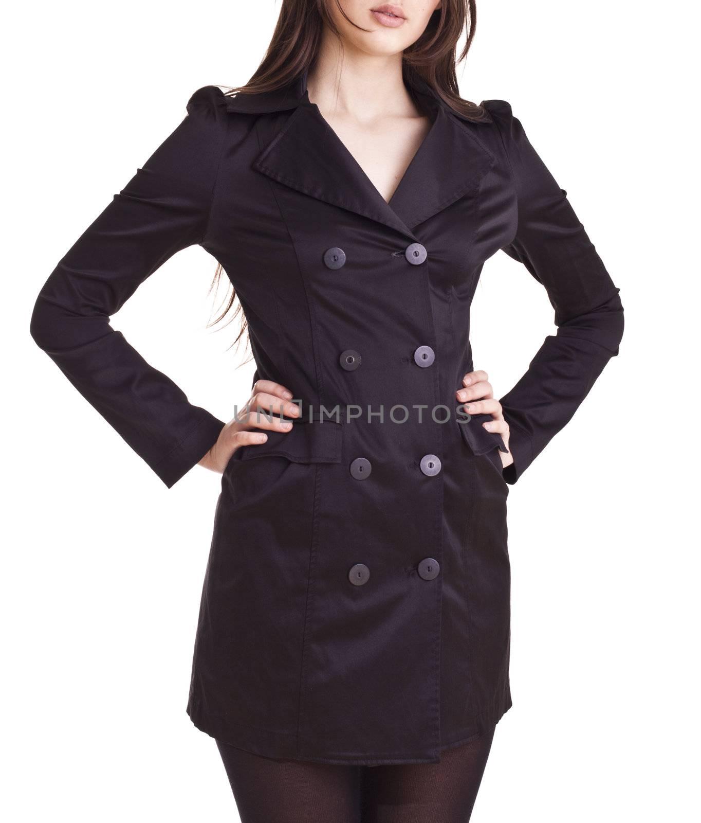 fashion model in fashion dress