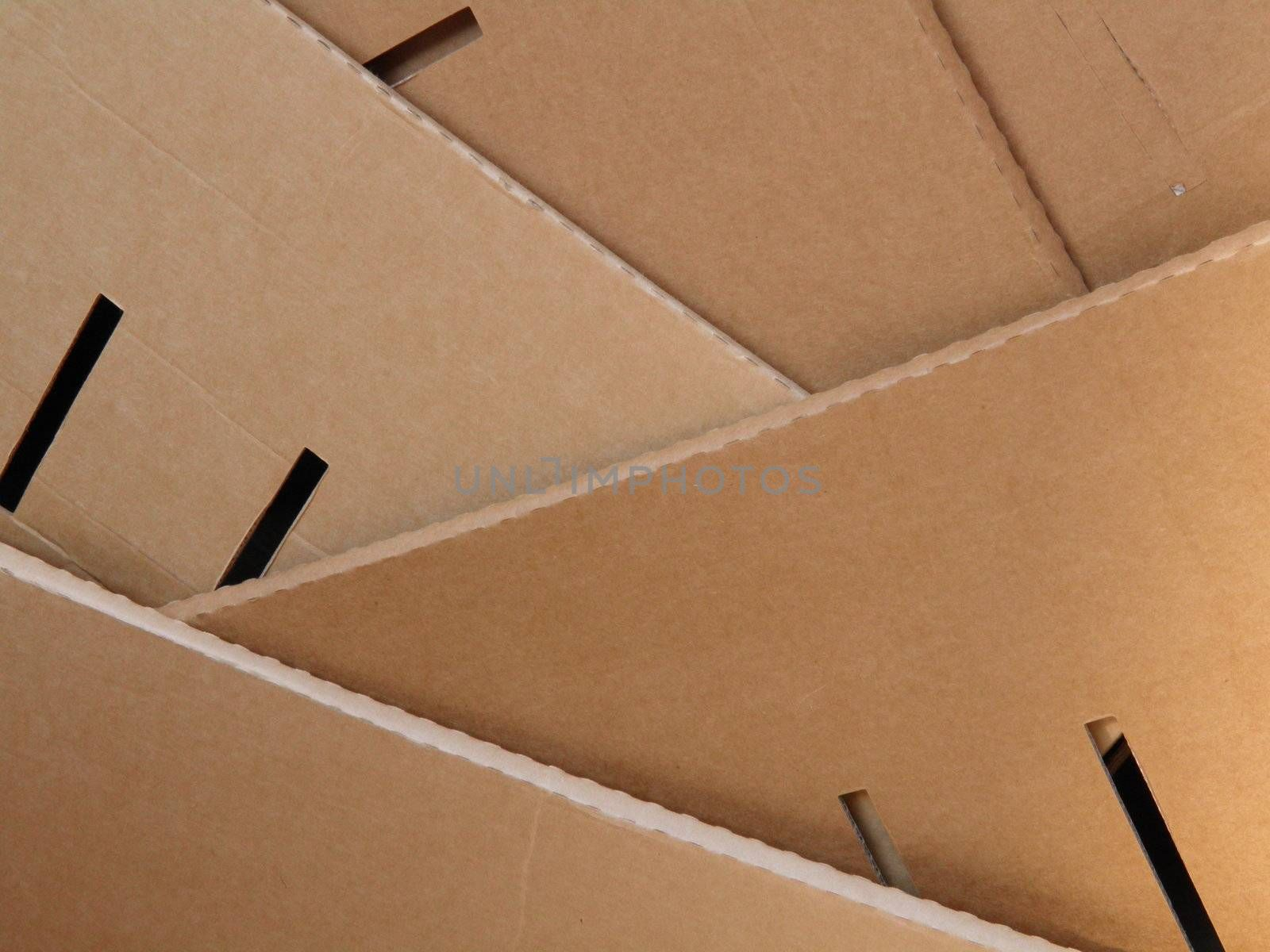 Corrugated cardboard by paolo77
