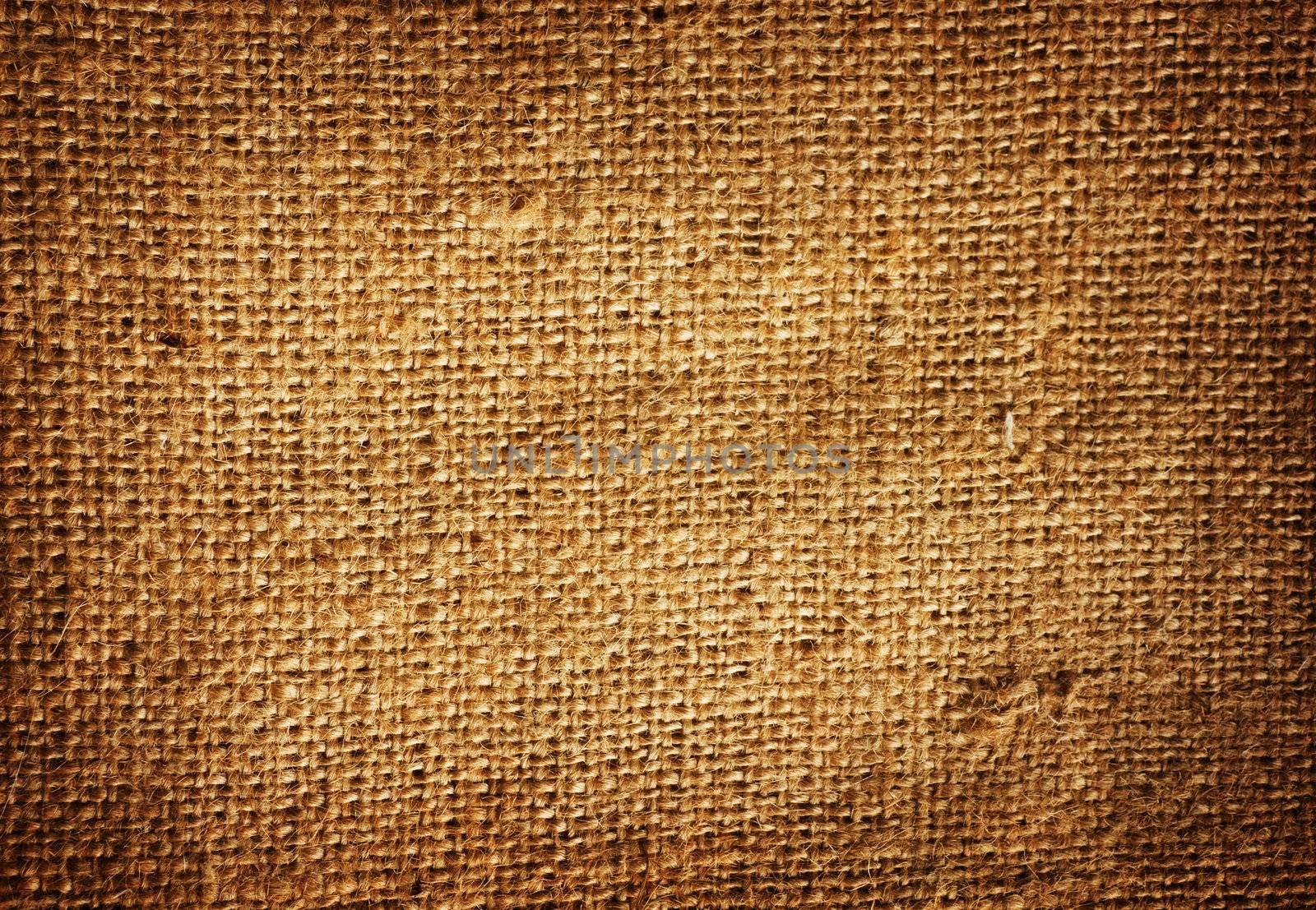 Texture of sack. Burlap background