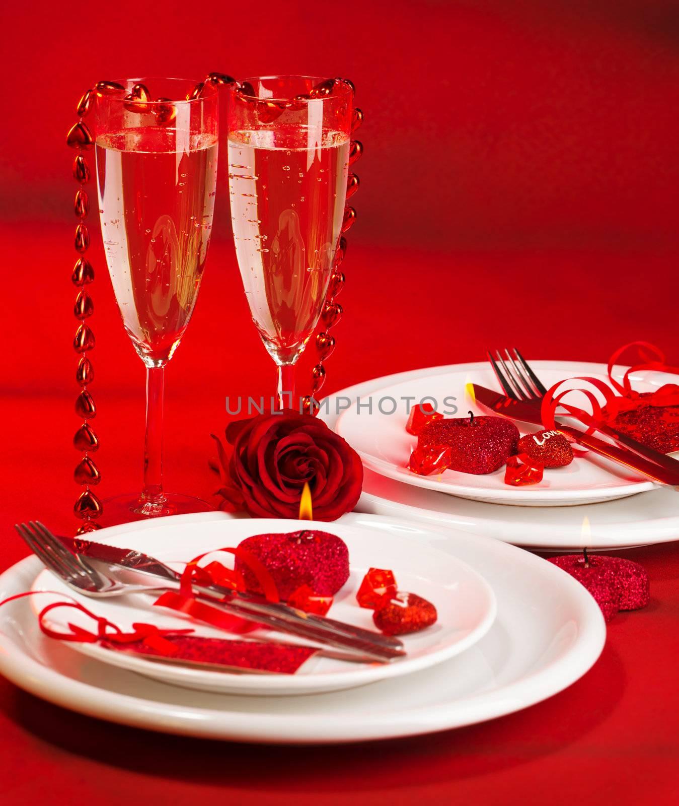 Romantic dinner by Anna_Omelchenko