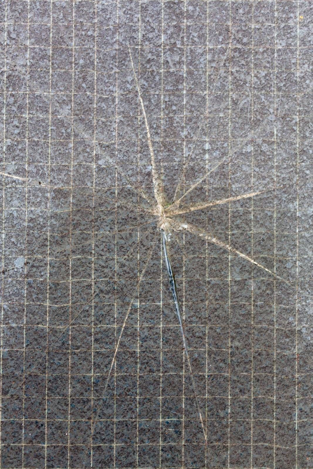 Cracked wall tiled texture