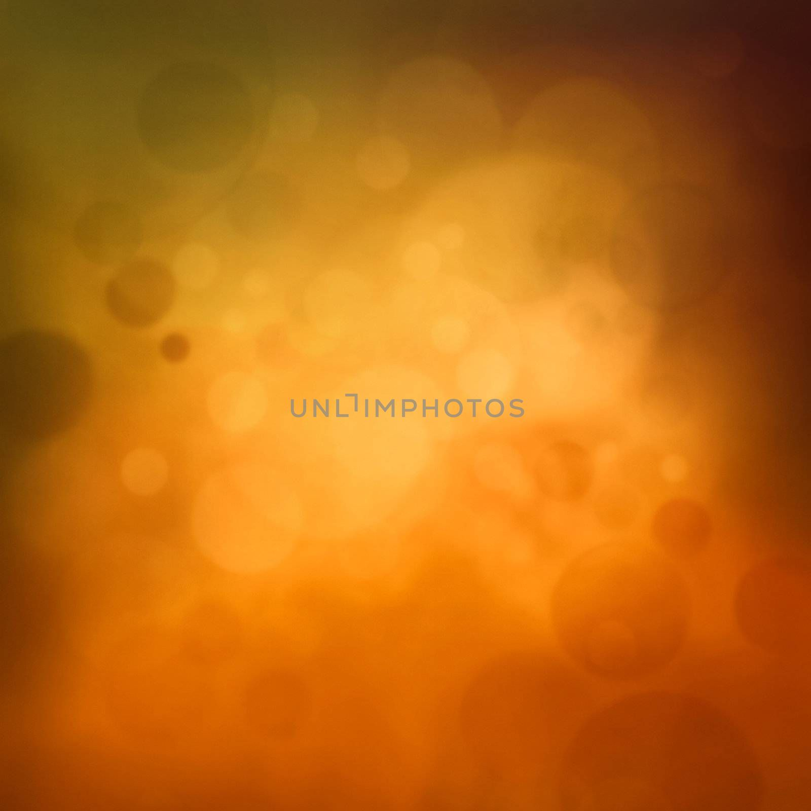 Colorful yellow autumn bokeh background. Fall abstract  background with season pastel colors.