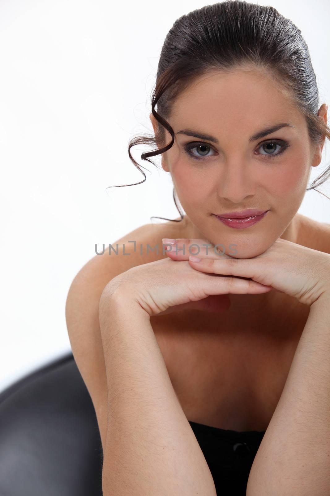 Brunette beauty
