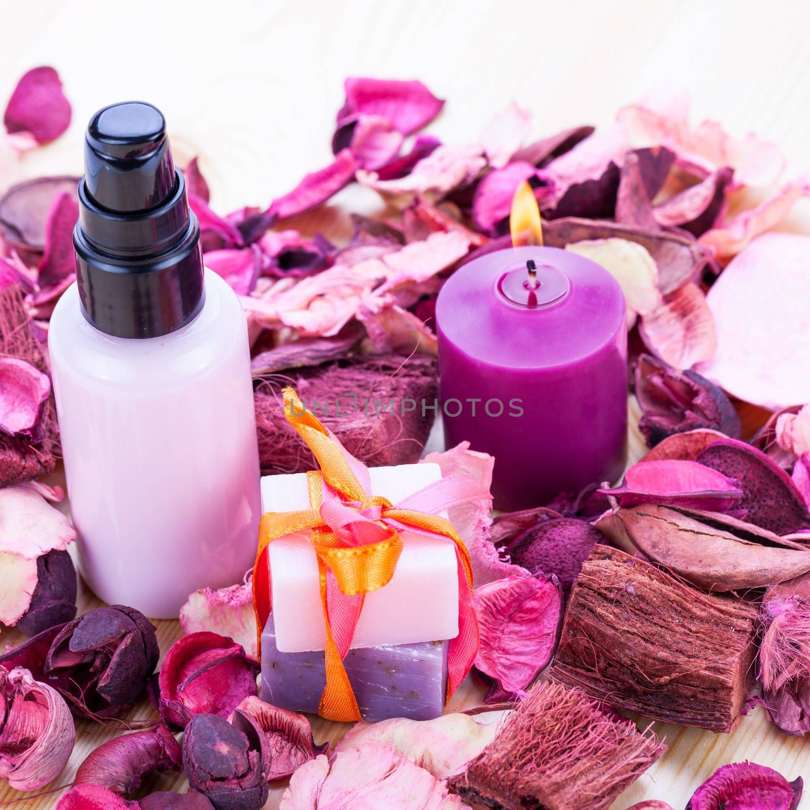 aroma wellness cosmetic beauty objects macro closeup