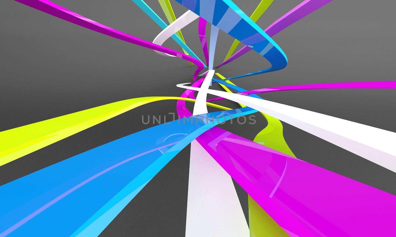 Abstract 3d by jordygraph