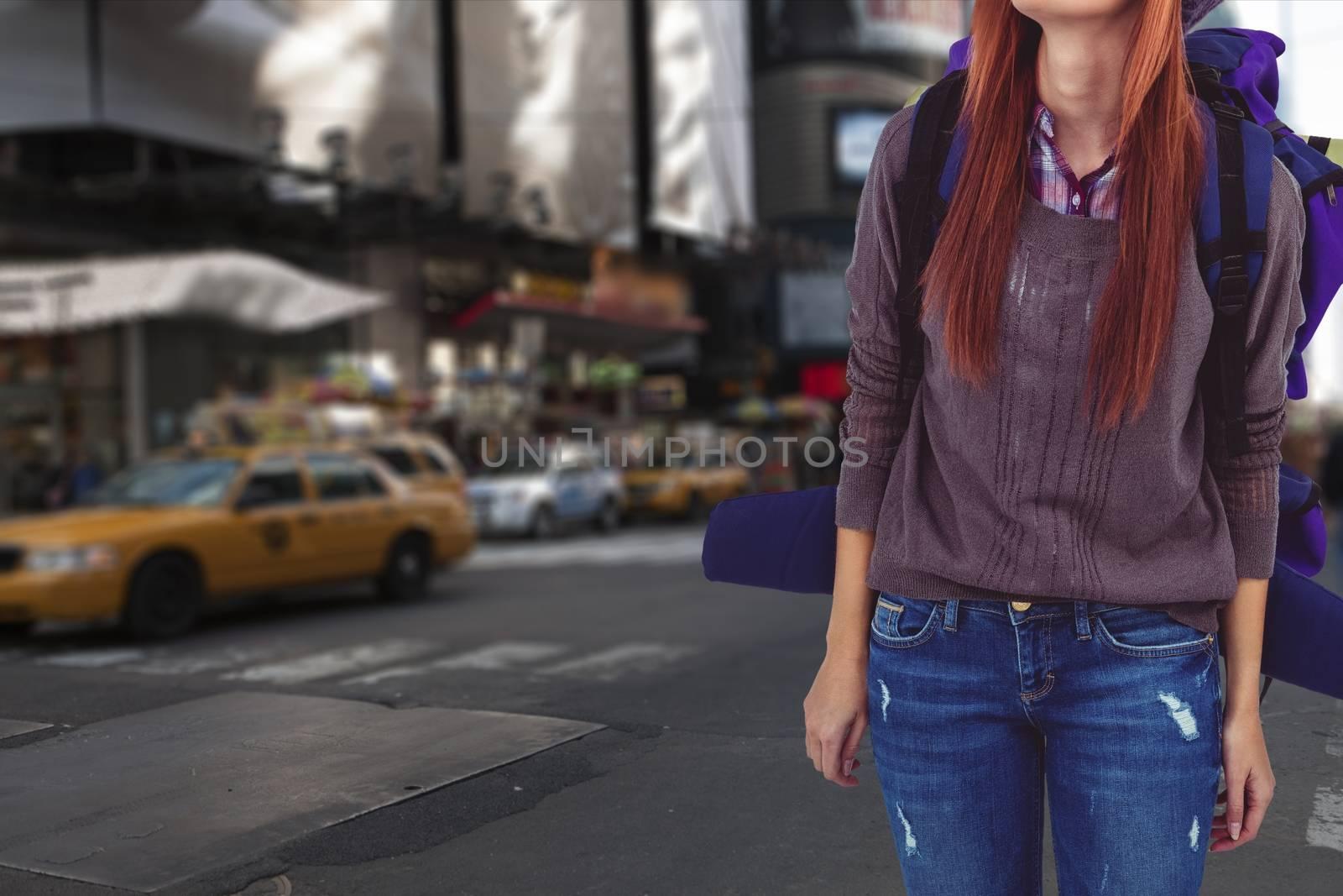 Digital composite of travel torso16