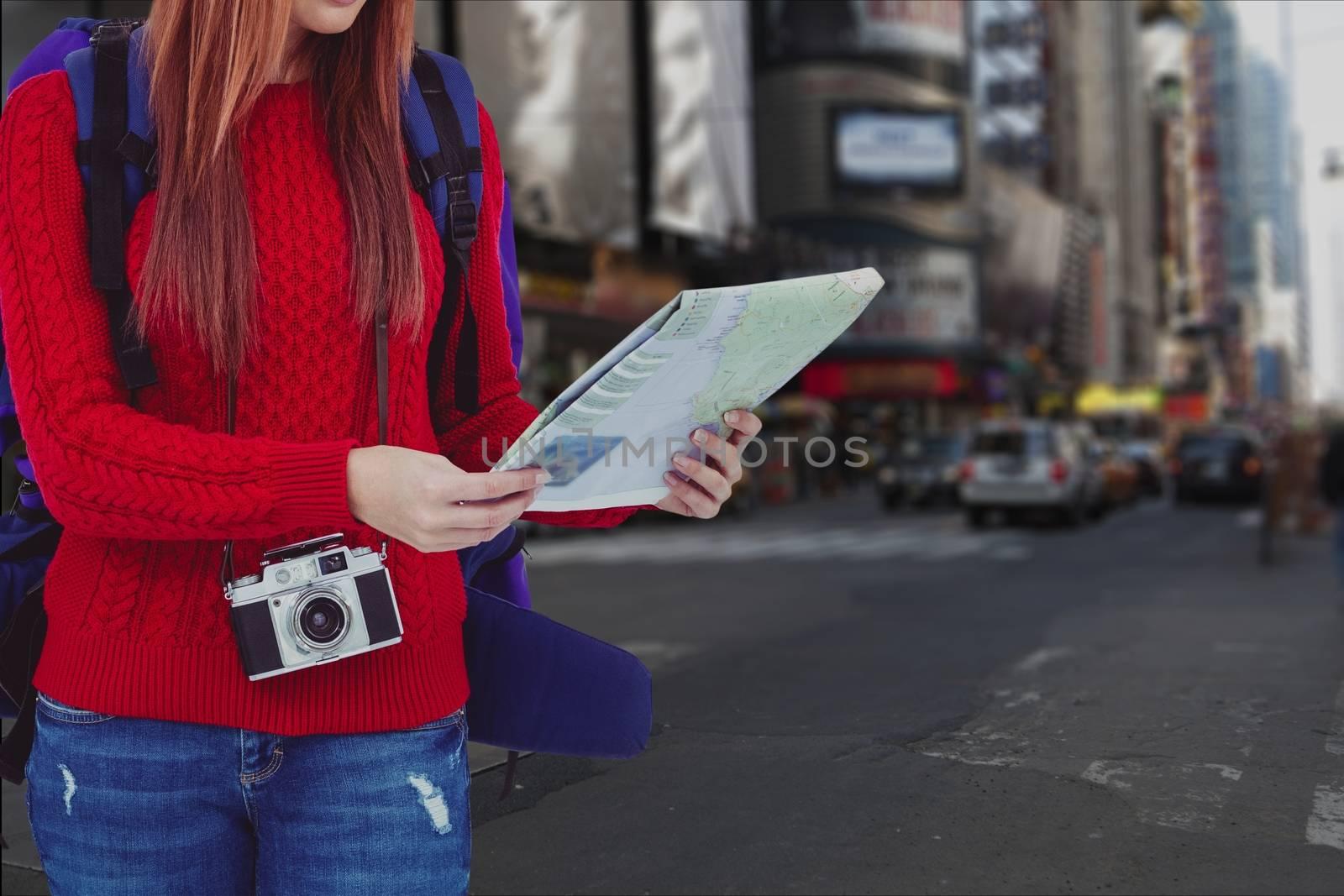 Digital composite of travel torso12