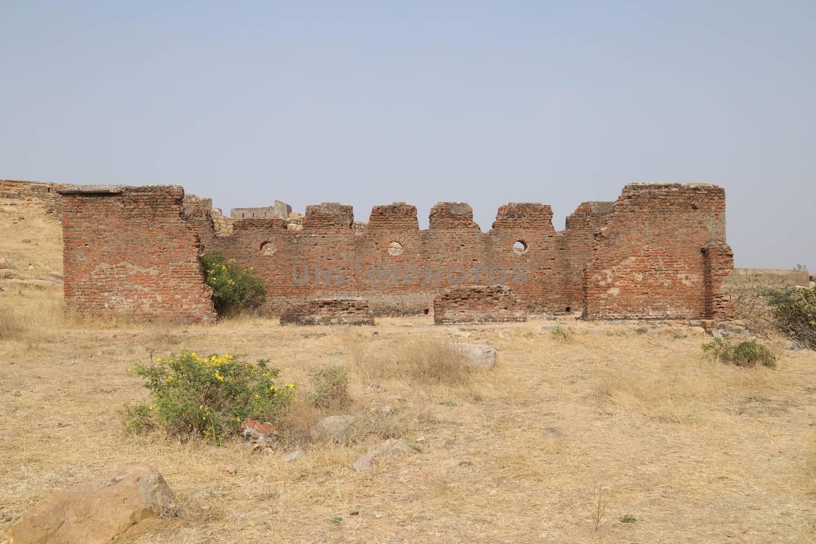 Heritage Fort wall by rajastills