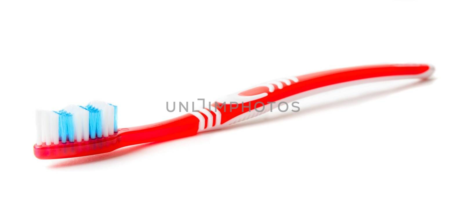 Toothbrush isolated on the white
