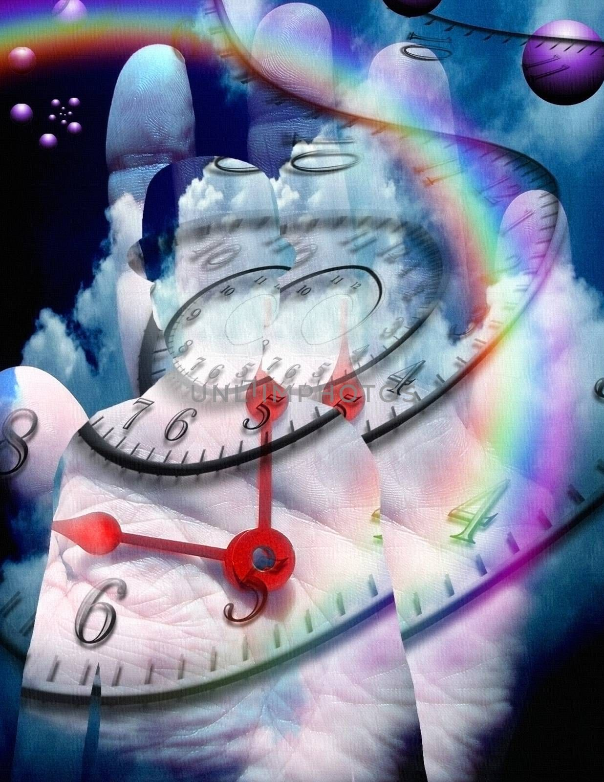 Symbolic composition. Time travel