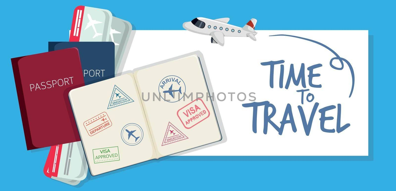 A time to travel icon illustration