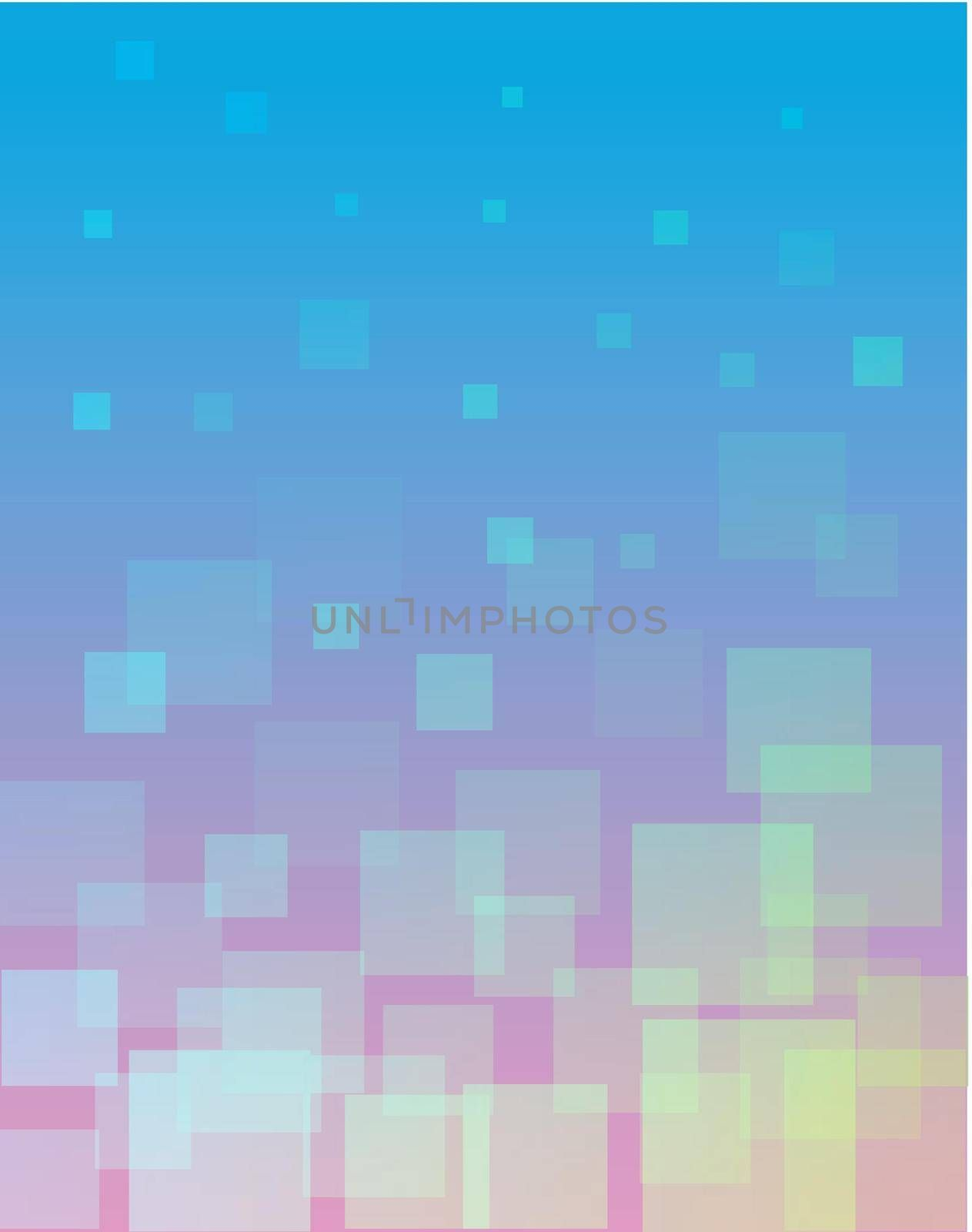 Illustration of blury shapes abstract background