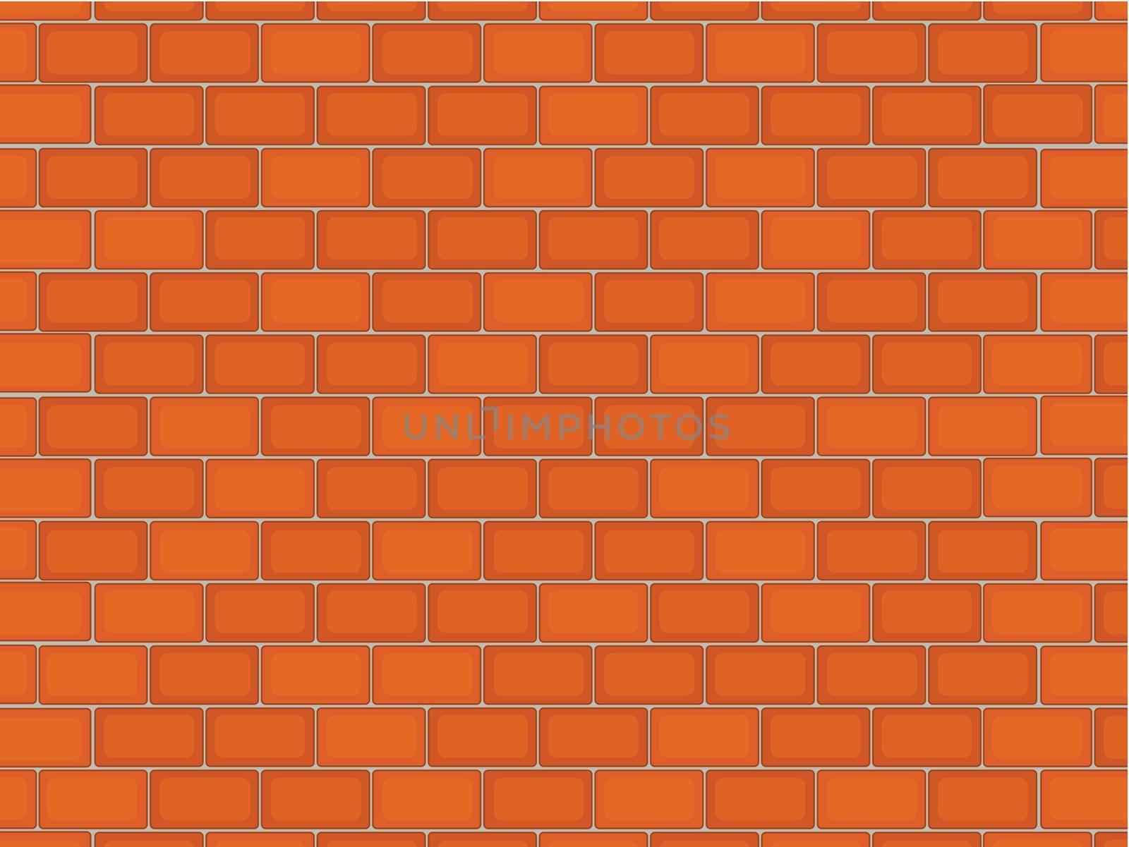Illustration of a brick texture