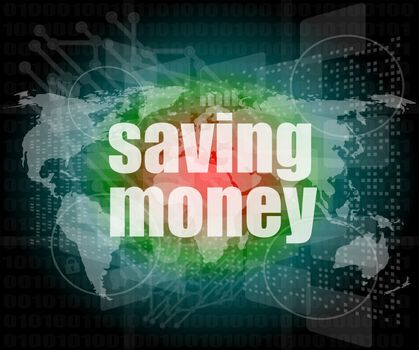 saving money on digital touch screen interface