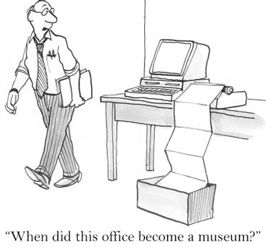 """""""When did this office become a museum?"""""""