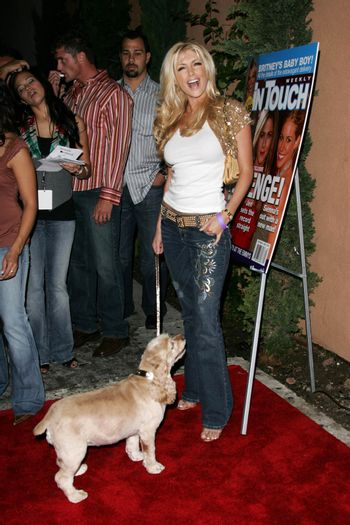 Brande Roderick at the In Touch Presents Pets And Their Stars Party, Cabana Club, Hollywood, CA 09-21-05