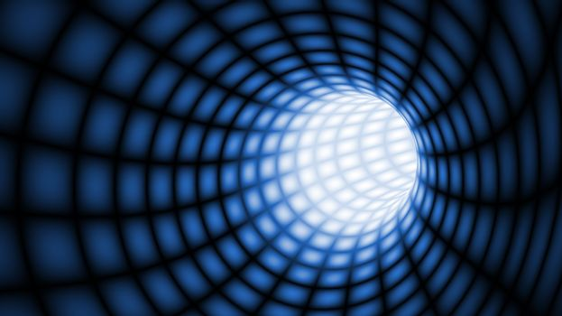 Abstract Tunnel line technology background.