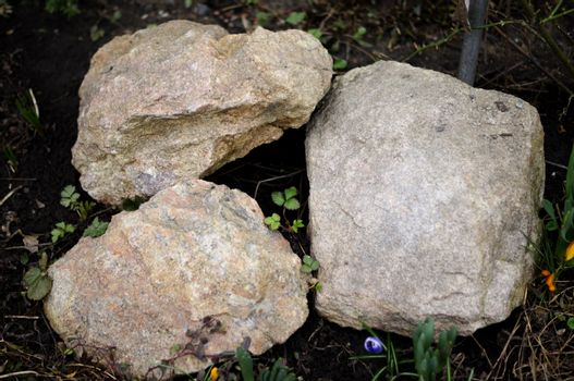 3 stones. For your commercial and editorial use