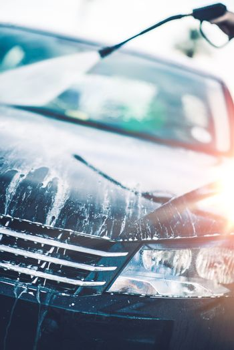 Spring Car Cleaning. Car Wash Day. Transportation Theme.