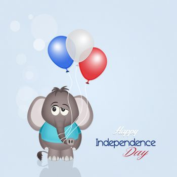illustration of happy Independence Day