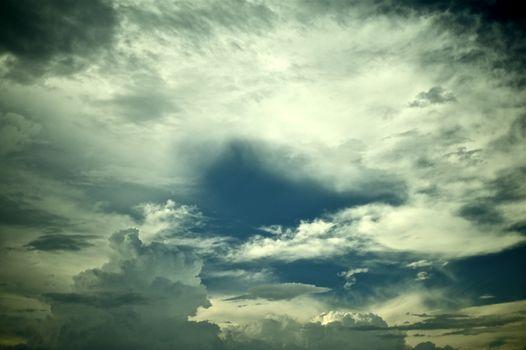 Summer Sky - Stormy Sky.