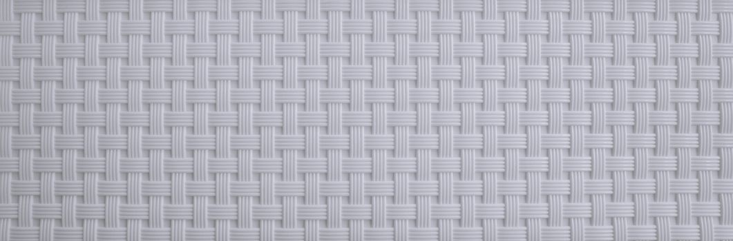 Texture of white weave background.