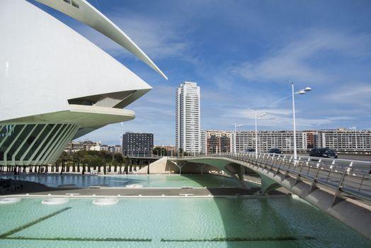 Museum of Science Prince Felipe, Valencia, Spain Editorial