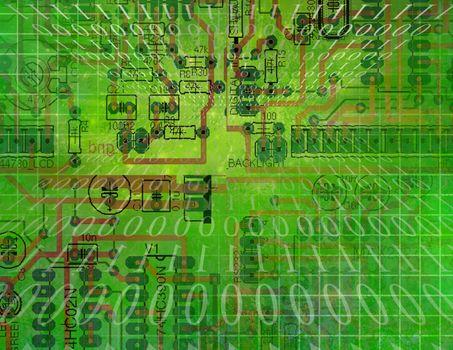Circuit Technology. Binary code
