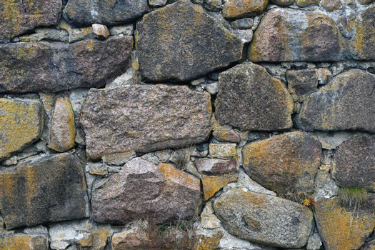Texture from a large stone Wall texture background