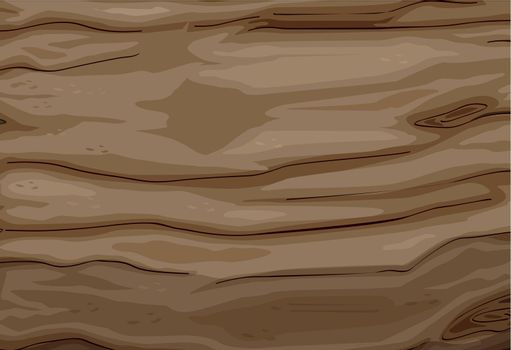 Illustration of a wood texture