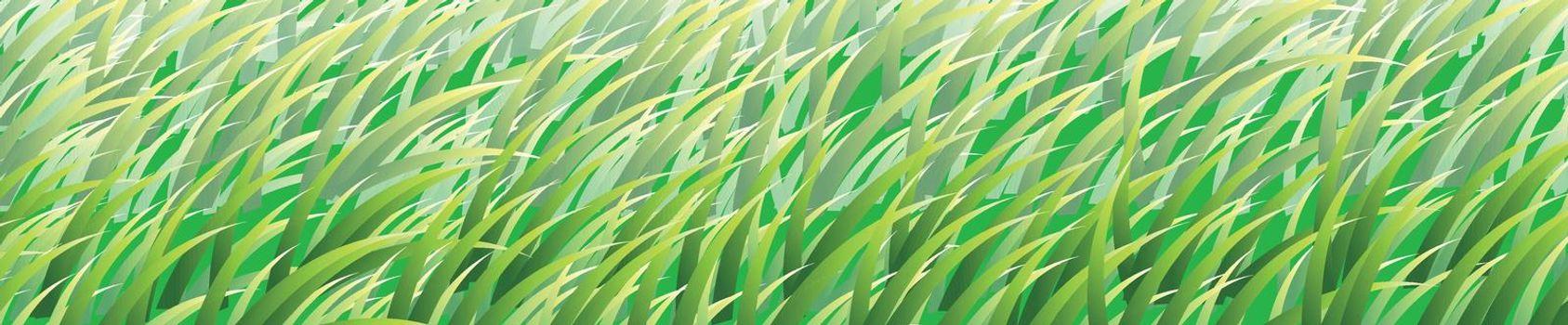 Illustraiton of grass texture background